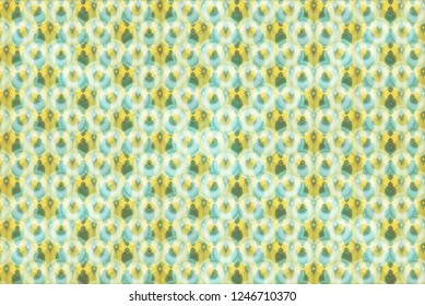 Geometric patterns with circles and stripes