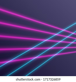 geometric retro 80s laser background