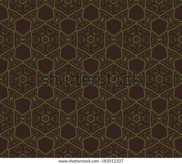 Geometric shape abstract Raster copy illustration. Seamless pattern.