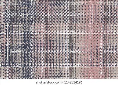 Geometrical, elegant tweed  texture repeat modern pattern design