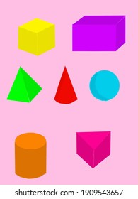 geometry is a three-dimensional form and has volume