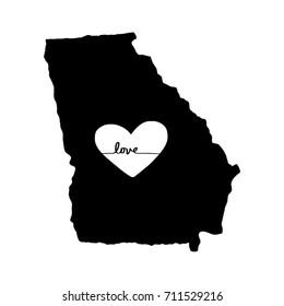 Georgia Love Typography Design