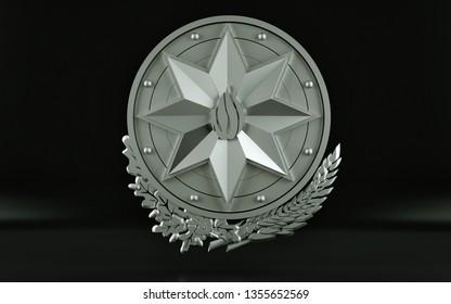 GERB AZERBAIJAN 3D