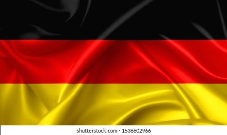 german flag country symbol illustration