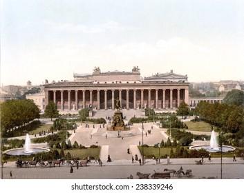 Germany, The Berlin Museum, Berlin, photochrom, ca early 1900s.