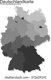 Germany with federal states