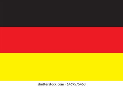 Germany flag with Berlin as the capital