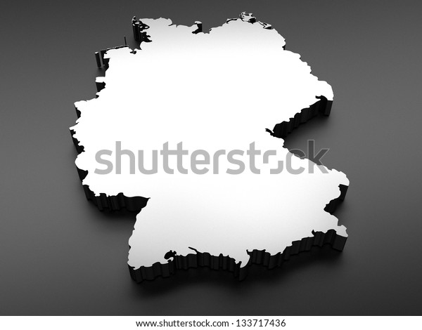 Germany map (done in 3d)