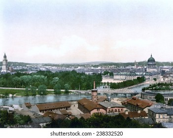 Germany, Potsdam, Berlin, photochrom, ca 1900.