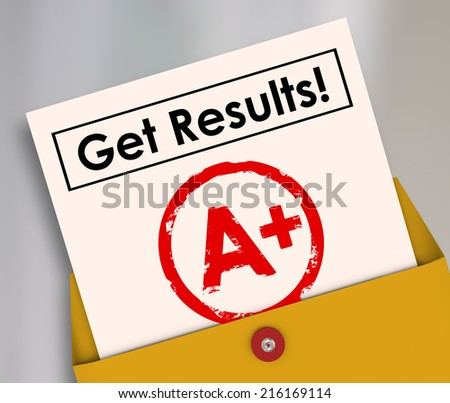 how to get a good result