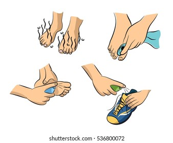 how to get rid of stinky feet and shoes