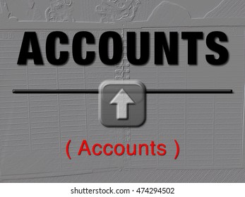 Get your account out of the red and into the black illustration
