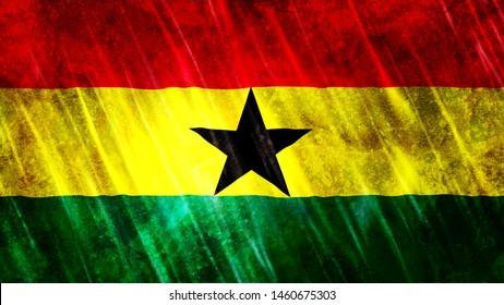 Ghana Flag for Print, Wallpaper Purposes, Size : 7680(Width) x 4320(Height) Pixels, 300 dpi, Jpg Format