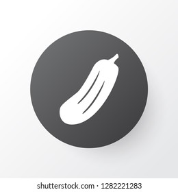 Gherkin icon symbol. Premium quality isolated cucumber element in trendy style.