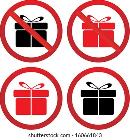 gift and stop gift icon