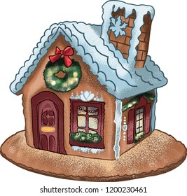 Gingerbread House, Christmas Supplies, Christmas Decor