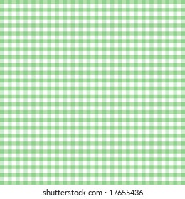 Gingham Check, seamless background, pastel green and white pattern for sewing, arts, crafts, albums, scrapbooks and DIY home decorating.