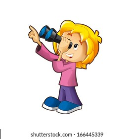 Binoculars Clipart Images Stock Photos Vectors Shutterstock