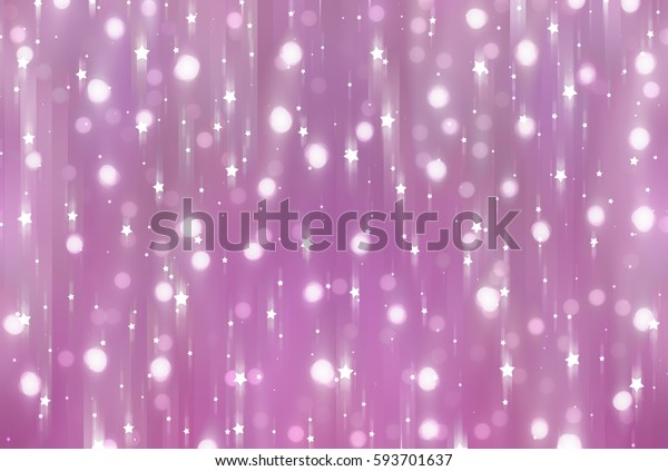 Glamour abstract background pink illustration with glitter.