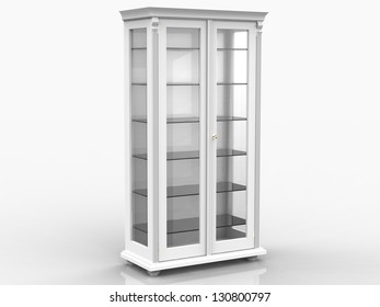 glass cupboard