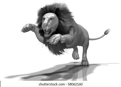 Glassy Lion