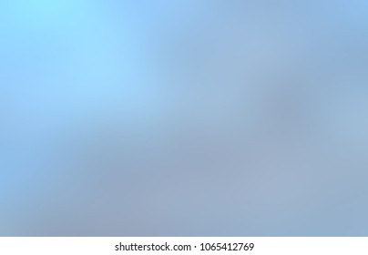 Gleam blue grey ombre. Blurred smoky template. Abstract toned pattern. Empty background. Defocused texture.