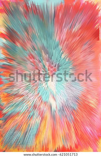 Ilustración De Stock Sobre Glitch Art Wallpaper Abstract
