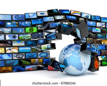 Global media technology