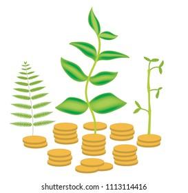 Global microfinance illustration
