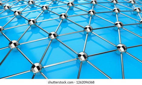 global networking 3D-illustration