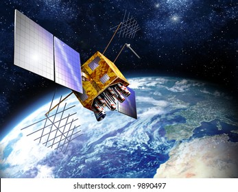 The Global Positioning System (GPS) is a satellite-based navigation system made up of a network of 24 satellites placed into orbit by the U.S. Department of Defense.