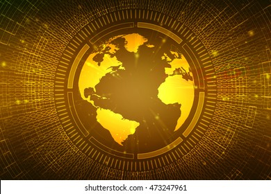 globe internet connecting,3d illustration
