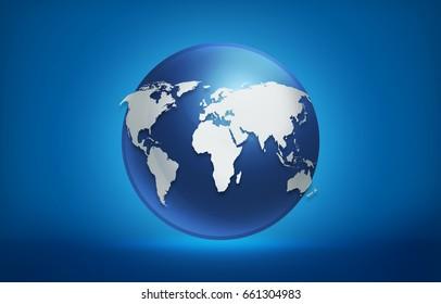 globe world map background, High Resolution