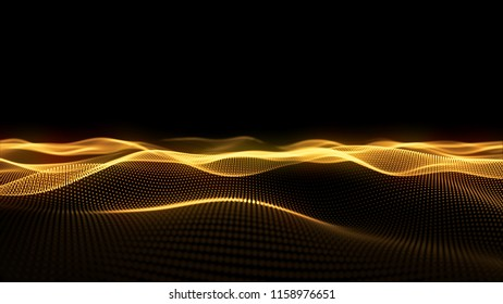 Glow Motion Abstract light effect for background