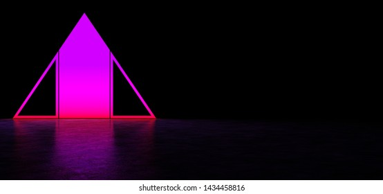 Glowing Triangle Images, Stock Photos & Vectors   Shutterstock