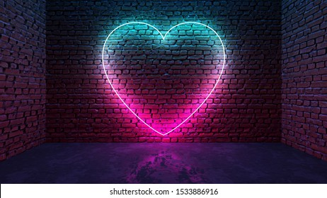 Neon Purple Heart Images Stock Photos Vectors Shutterstock