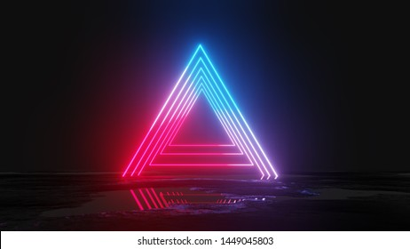 Glowing Triangle Images, Stock Photos & Vectors | Shutterstock