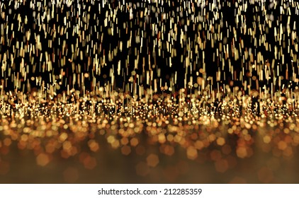 Glowing Sparks Abstract Background