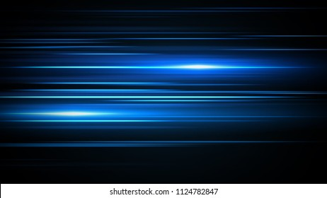 Glowing streaks.Beautiful light flares on dark background. Luminous abstract sparkling lined background. light effect wallpaper.