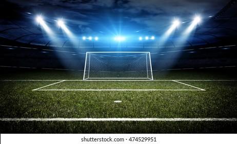 Goal post 3d