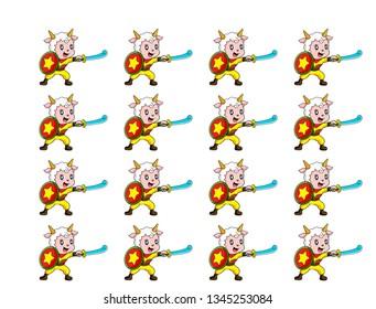 goat war kartun