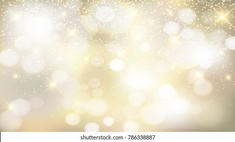 gold background with sparkles