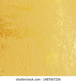 Gold Background, Gold Texture, Gold Gradient background, Gold foil background, Metallic wallpaper, Gradient texture. Design for poster, invitation, card, wedding invitation.