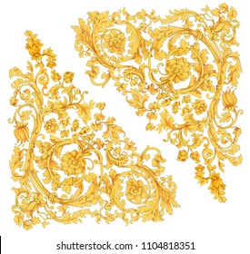 gold baroque, baroque design