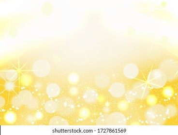 gold is brightly shining sparkle