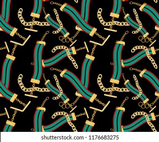 gold chain color pattern