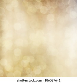 Gold Festive Christmas background.