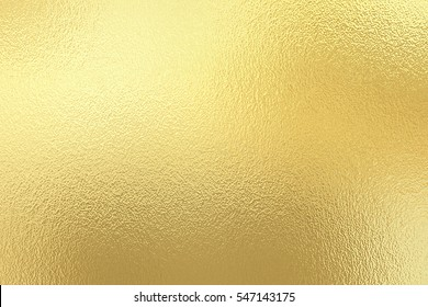 Gold foil paper decorative texture background for artwork