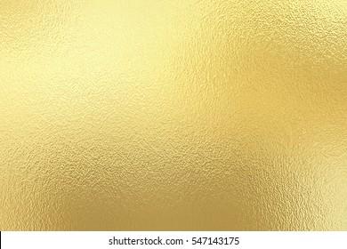 Goldfolie, dekorativer Texturhintergrund für Kunstwerke