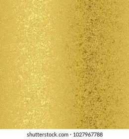 Gold foil seamless pattern, golden gradient background